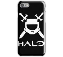 Halo spartan logo iPhone Case/Skin