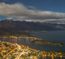 Queenstown from the top Sticker