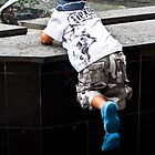 Magic Blue Boots by StreetScenes