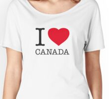 I ♥ CANADA Women's Relaxed Fit T-Shirt