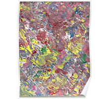 VIVID COLORS ABSTRACT TWO Poster