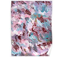 VIVID COLORS ABSTRACT FIVE Poster