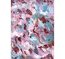 VIVID COLORS ABSTRACT FIVE Photographic Print