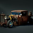 1931 Chevrolet Diesel Rat Rod Pickup Truck by TeeMack