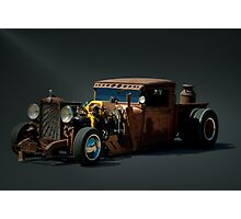 1931 Chevrolet Diesel Rat Rod Pickup Truck Photographic Print