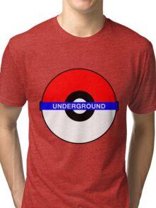 Pokemon Underground Tri-blend T-Shirt
