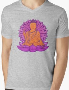 peace buddha in the sky Mens V-Neck T-Shirt