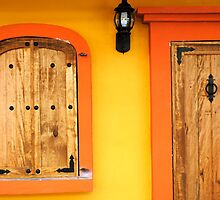 door and window detail  by richard  webb