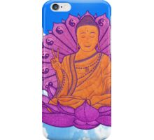 peace buddha in the sky iPhone Case/Skin