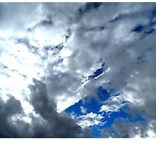Cloud Galore Photographic Print