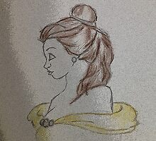 Princess Belle by christieloulou