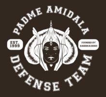 Padme Amidala Defense Team (white text) by houseorgana