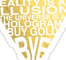 BUY GOLD (Gold Version) Sticker