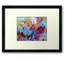 Frilly (Plume Agate) Framed Print