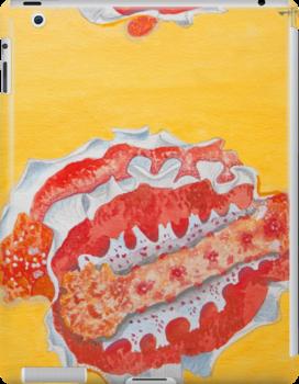 iPad case, iPad cover, iPad deflector. nudibranch by terezadelpilar~ art & architecture