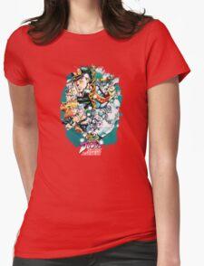 JoJo's Bizarre Adventure - Stardust Crusaders Womens Fitted T-Shirt