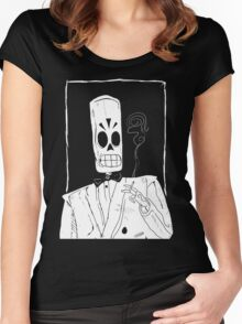 Grim Women's Fitted Scoop T-Shirt