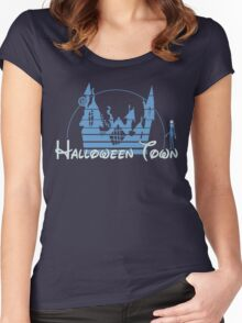 Halloween Town Women's Fitted Scoop T-Shirt