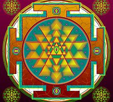 Mandala  created from your Name by Sarah Niebank