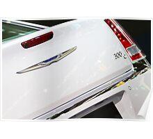 Chrysler 300C Back Light and Logo [ Print & iPad / iPod / iPhone Case ] Poster