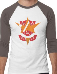 Optimus Lagann or Gurrenbot Men's Baseball ¾ T-Shirt