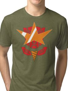 Optimus Lagann or Gurrenbot Tri-blend T-Shirt