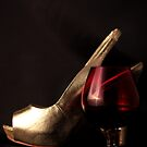 Still Life - Port & Heels by rsangsterkelly