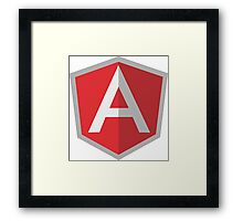Angular Framed Print