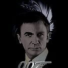 "James Bond 007 iphone case ""Bonded"" Connery/Craig full circle 2 by ALIANATOR"