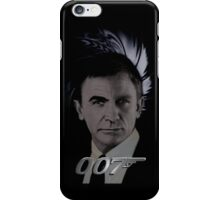 "James Bond 007 iphone case ""Bonded"" Connery/Craig full circle 2 iPhone Case/Skin"