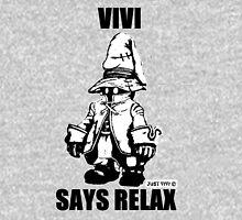 Vivi Says Relax - Monochrome T-Shirt
