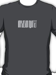 Implosion Quintet - White Logo T-Shirt