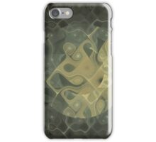 Abstract Gnarl iPhone Case/Skin