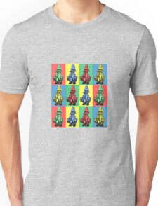 Just Vivi - Mix Colour Grid Unisex T-Shirt