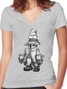 Just Vivi - Sketch em up Women's Fitted V-Neck T-Shirt