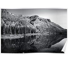glacier reflection Poster