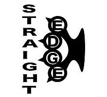 Straight Edge Brass Knuckles Design Photographic Print
