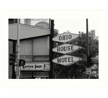 Chicago Motel Art Print