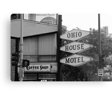 Chicago Motel Metal Print