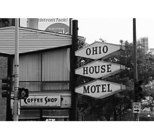 Chicago Motel Photographic Print