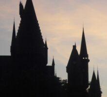 Hogwarts Castle Silhouette Sticker