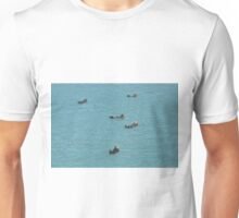 Sea Otters doing their Thing on the Sound Unisex T-Shirt