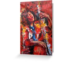 Esperanza Spalding Greeting Card