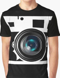 Camera Lens Graphic T-Shirt