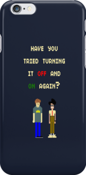 Have You Tried Turning It Off And On Again? by SallyDiamonds