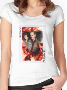 Archangel Gabriel: Supernatural Women's Fitted Scoop T-Shirt