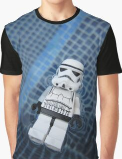 Dave Stormtrooper Tenerife in Pool Graphic T-Shirt
