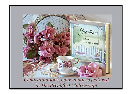 Banner for a Feature in The Breakfast Club by Sherry Hallemeier
