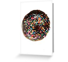 Graphic Donut Greeting Card