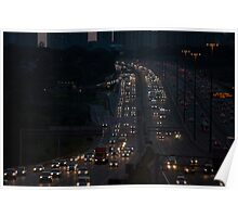 Highway 401 West of Don Mills (#423)  Poster